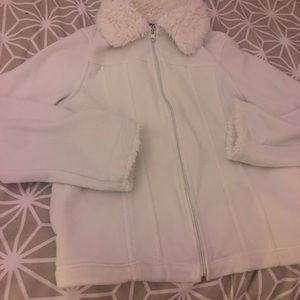 An Effeci white jacket